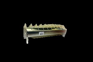 Кормушка металлическая оцинкованная для кур 100 см
