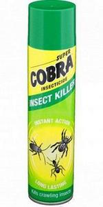 Супер Кобра Аэрозоль от ползающих насекомых, 400 мл