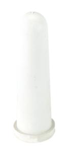 Соска белая с крестовым разрезом — 100 мм