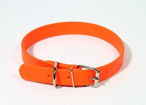 Ошейник из биотана шир. 25мм, обх.шеи. 39-51,5см, оранжевый