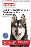 Beaphar Ошейник д/собак против блох и клещей (синий)