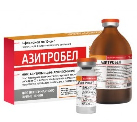 Азитробел 10,0 см3, 1 фл