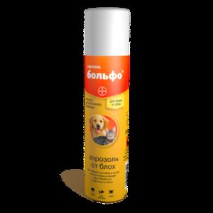 БОЛЬФО (BOLFO) Аэрозоль противопаразитарный (250 мл)
