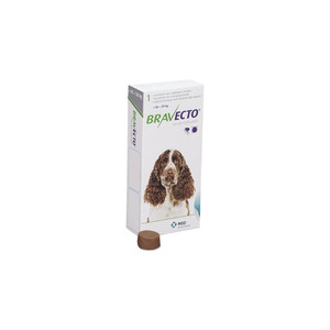 Бравекто для собак весом 10-20 кг,  1 таб. 500 мг