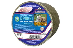 Фелуцен брикет О2-2 для коз и овец, 3 кг