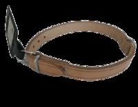 Ошейник кожаный натуральный 35,5-41,5см х 8мм 735325