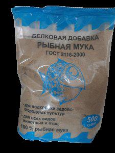 Белковая добавка Рыбная мука, 500 гр.
