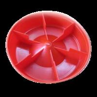 Кормушка (поддон) под банку 0,5-3,0л, D200 мм