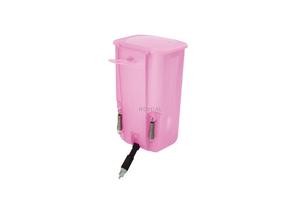 Ниппельная поилка с бачком — 1 л розовая