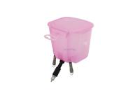 Ниппельная поилка с бачком — 0,5 л розовая