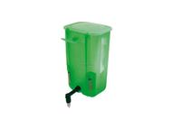 Ниппельная поилка с бачком — 1 л зеленая