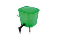 Ниппельная поилка с бачком — 0,5 л зеленая