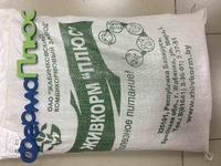 Комбикорм полнорационный для цыплят-бройлеров в возрасте с 25 дней и до убоя, ПК-6, 10кг