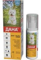 Дана Ультра спрей для собак, 100 мл